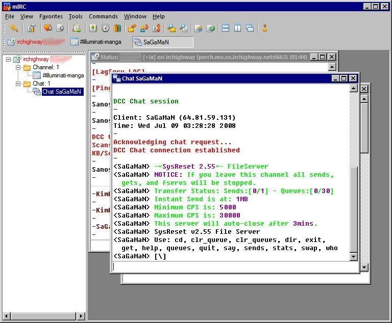 Cómo descargar archivos por mIRC - NeoTeo
