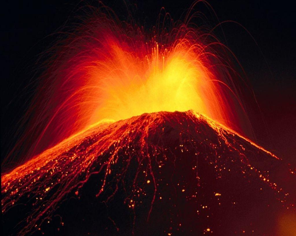 Se crearian centenares de volcanes en pocas horas.