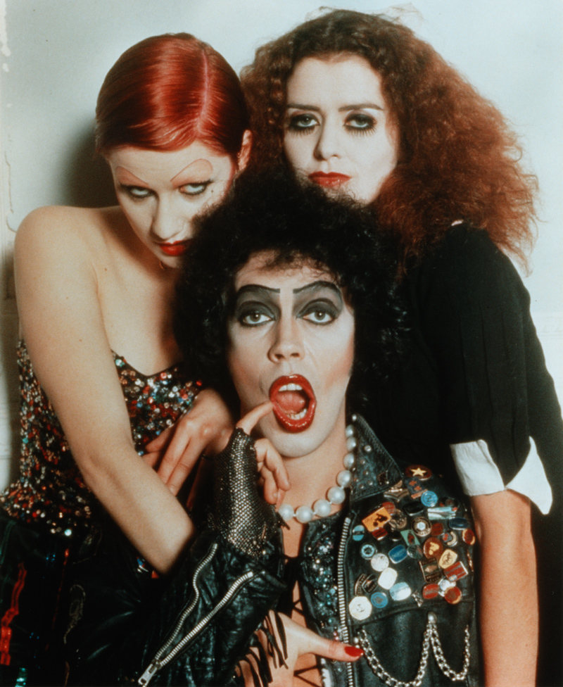 Frank N. Furter, Columbia y Magenta de The Rocky Horror Picture Show aprobaron estos enlaces (adivinó: elver)