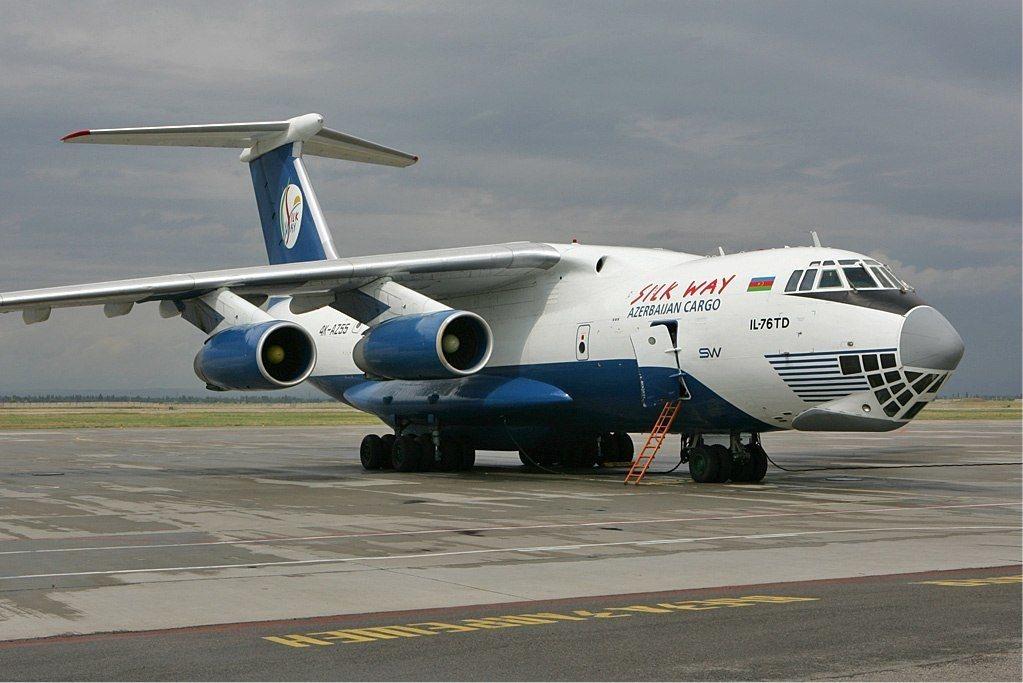 El avión Ilyushin IL-76