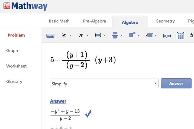 MyAlgebra com, resuelve tus problemas matemáticos en línea