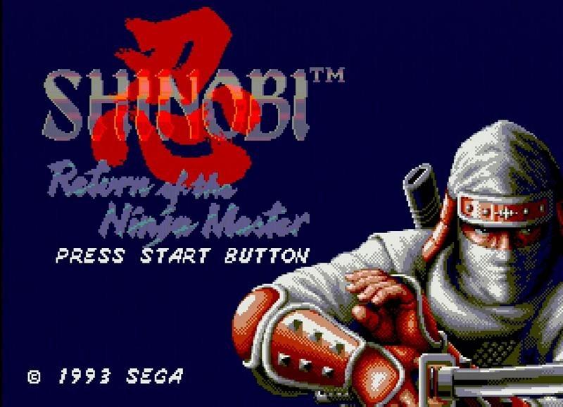Shinobi 3 - Return of the Ninja Master