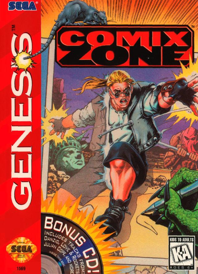 Comix Zone - Genesis