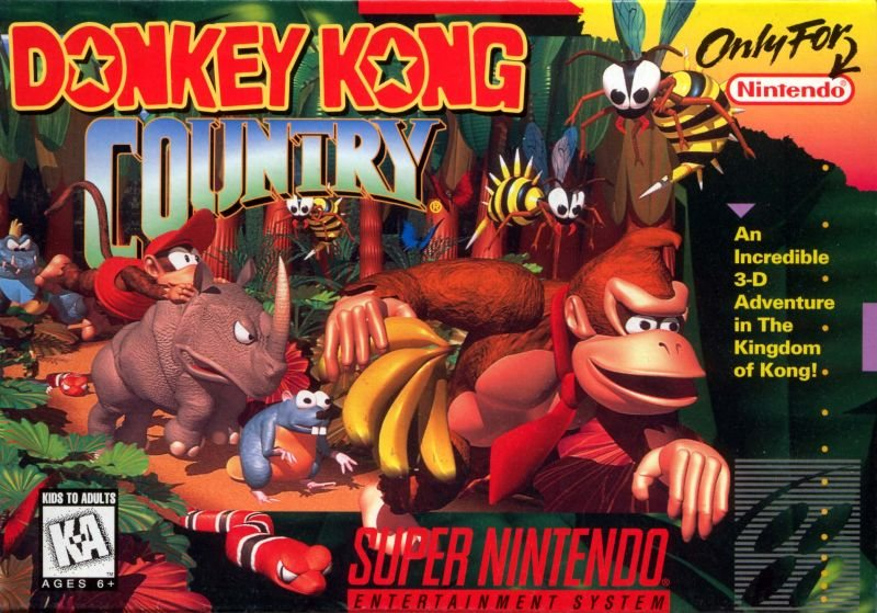 Donkey Kong Country -SNES