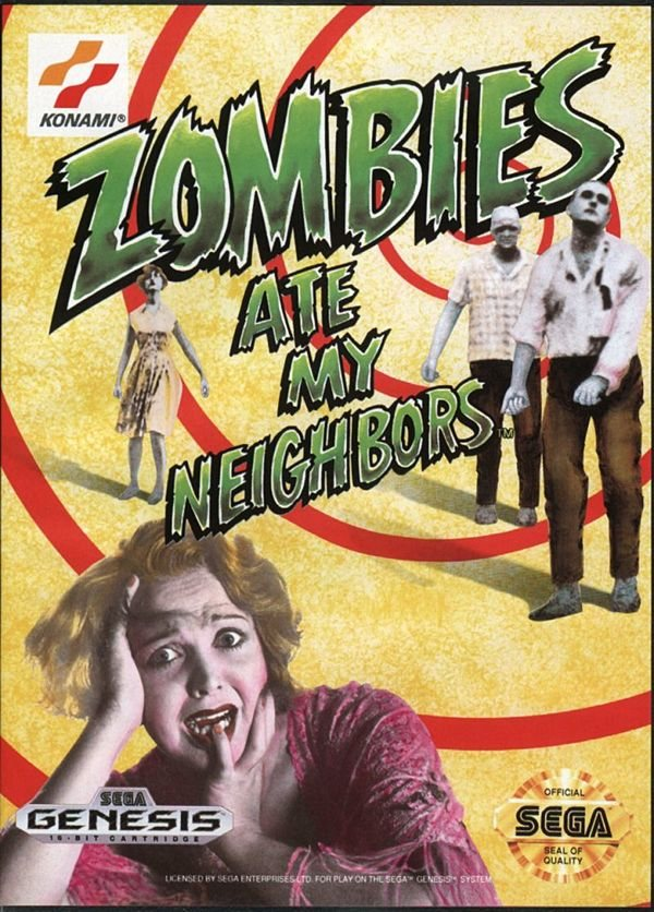 Zombies Ate My Neighbors - Genesis