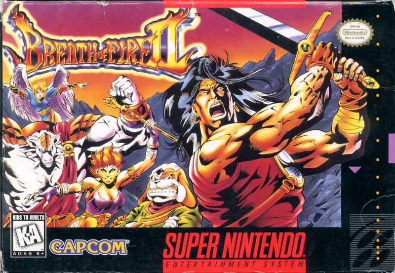 Breath of Fire II - SNES