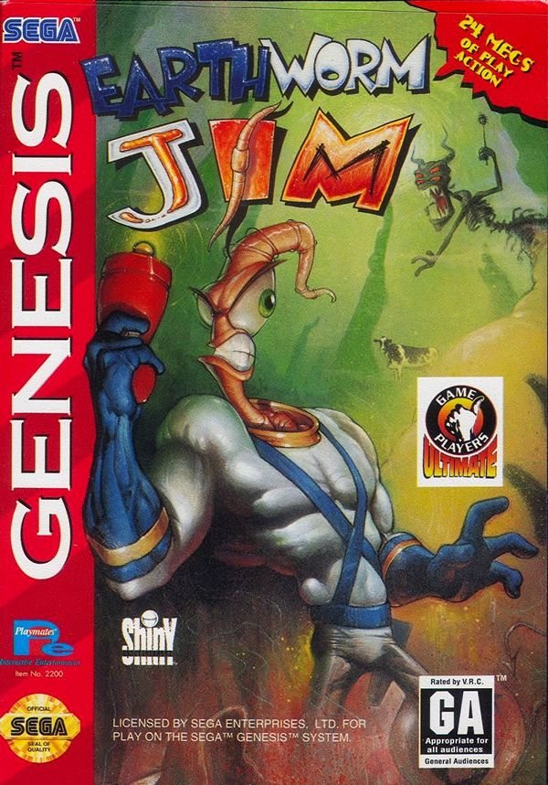 Earthworm Jim - Genesis