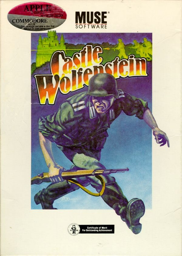 Beyond Castle Wolfenstein - Apple II