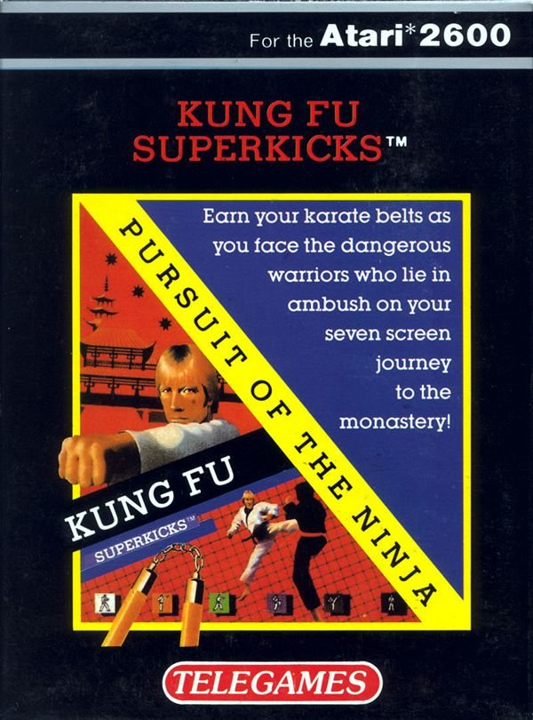 Chuck Norris Kung Fu Superkicks - Atari 2600
