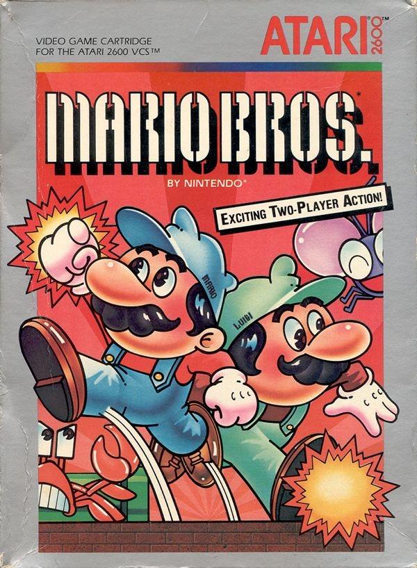 Mario Bros. - Atari 2600
