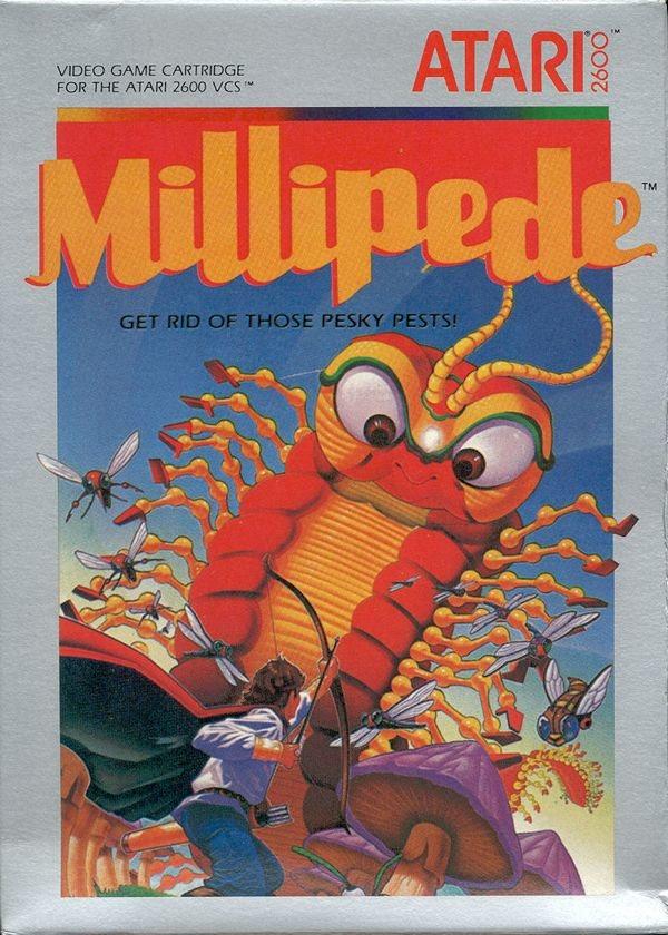 Millipede - Atari 2600
