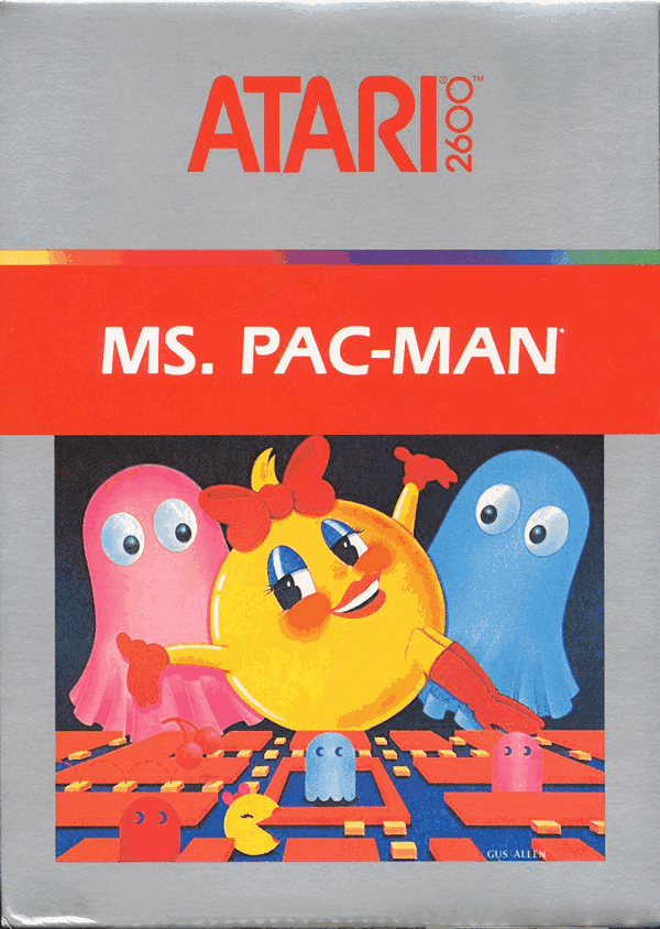 Ms. Pac-Man - Atari 2600