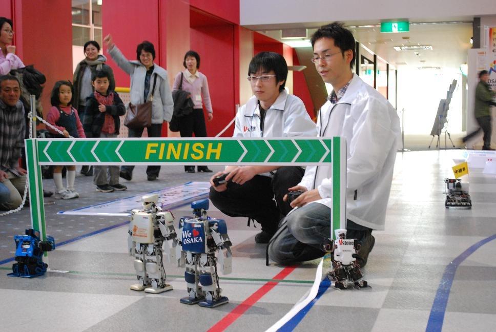 ¡Corran robotitos corran!