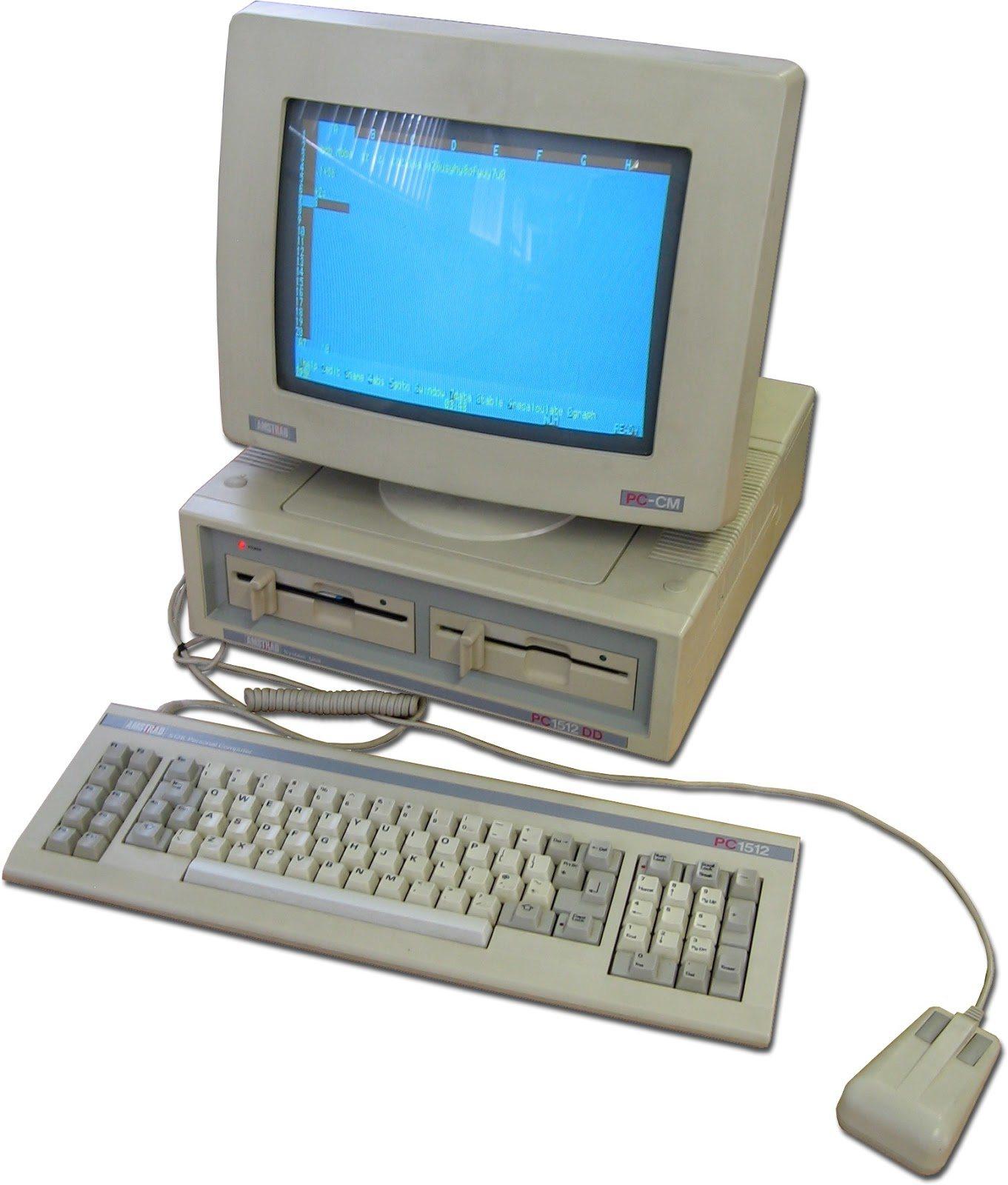Resultado de imagen de Amstrad PC1512