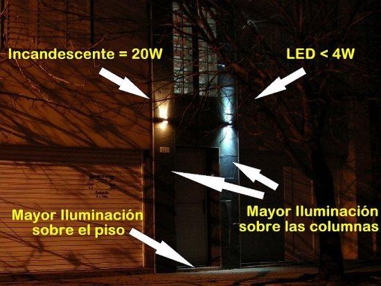Trabajo finalizado y comparación entre las luminarias