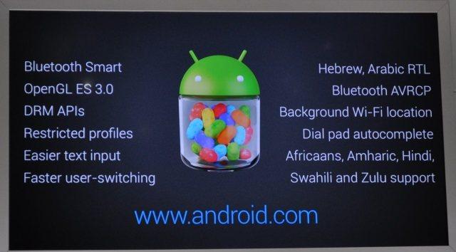 Lo nuevo en Android 4.3