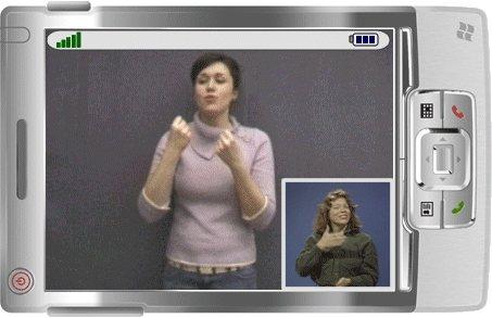 MobileASL: Teléfonos móviles para sordos.