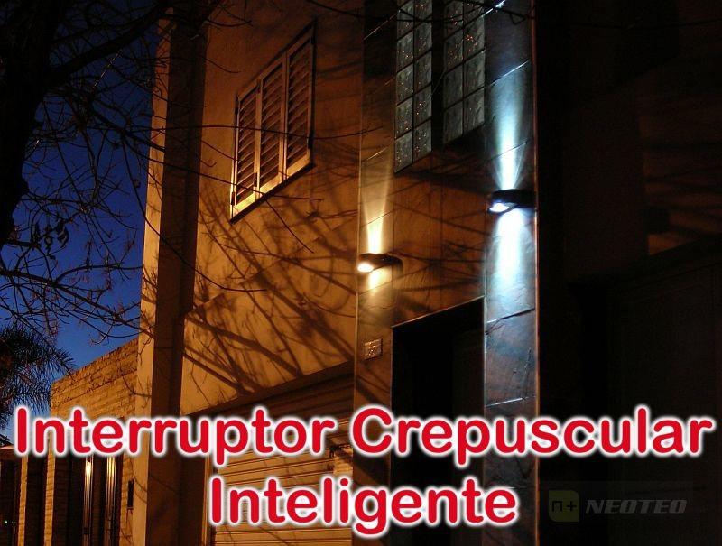 Interruptor Crepuscular Inteligente (PWM y LED)