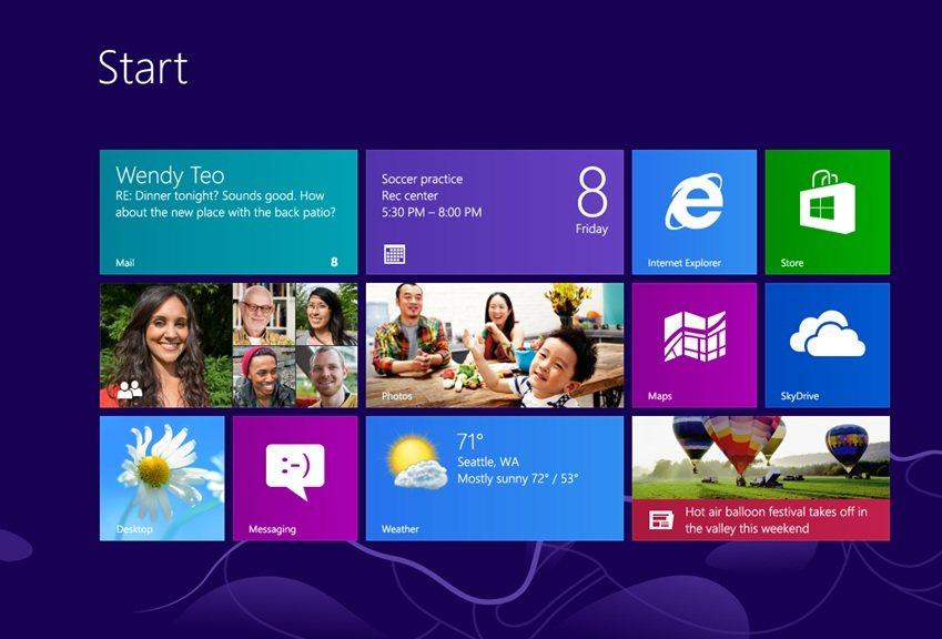 Windows 8 gratis por 90 días