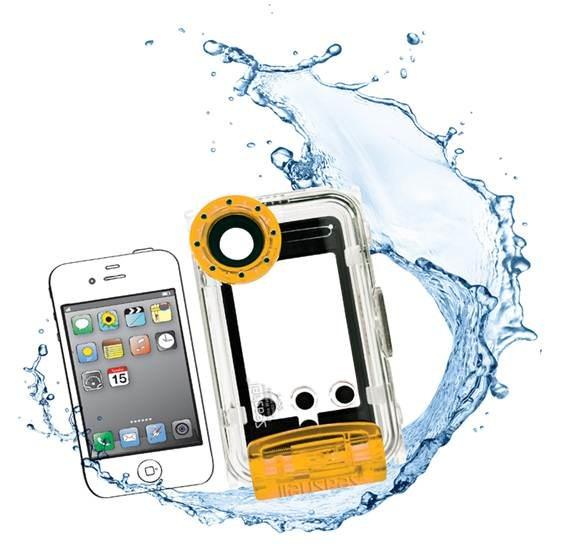 SeaShell SS-i: Carcasa sumergible para iPhone