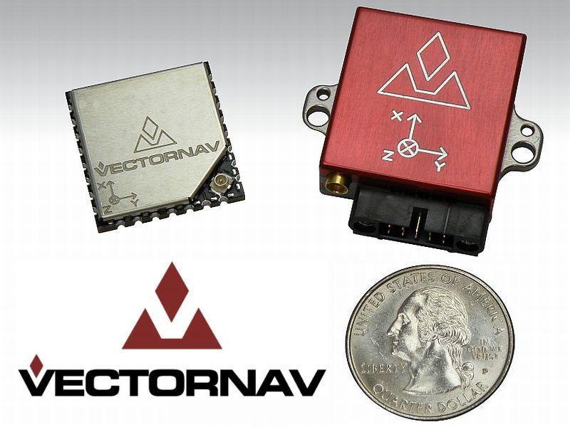 VectorNav VN-200: GPS + MEMS + INS + Procesador de 32 Bits