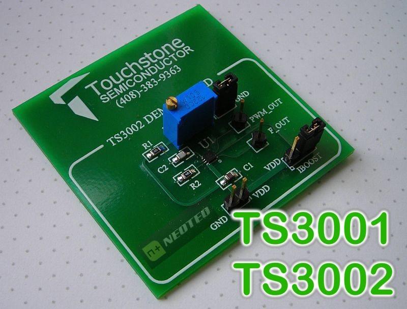 TS3001-TS3002, Osciladores CMOS de ultra-bajo consumo