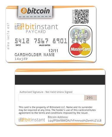 La primera tarjeta de débito de BitCoin