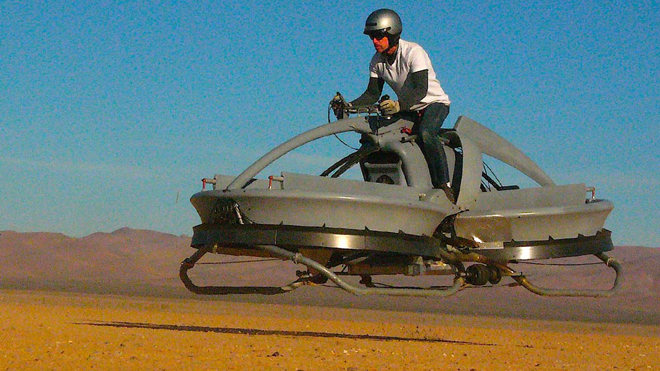 AeroFex: Moto deslizadora a lo Star Wars (video)