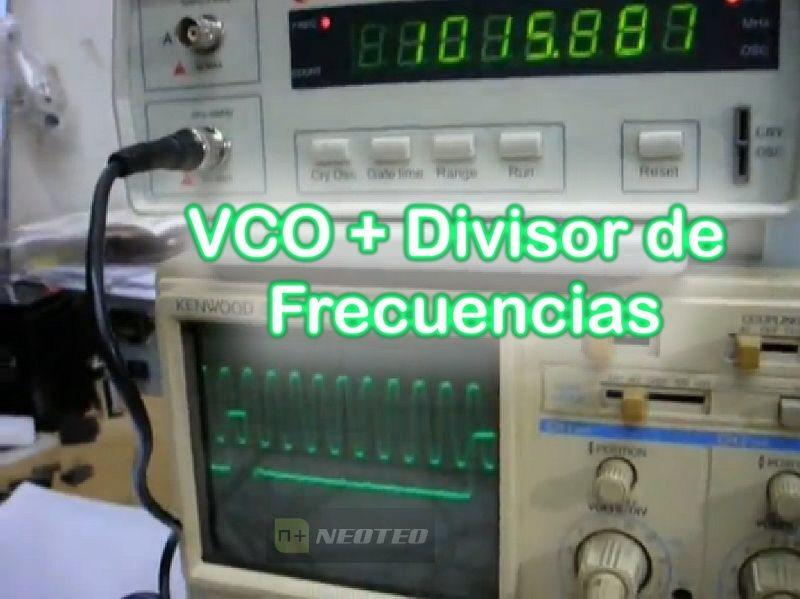 VCO y Divisor para PLL