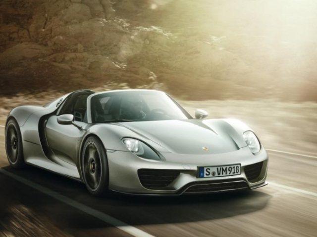 918 Spyder: El super-híbrido de Porsche