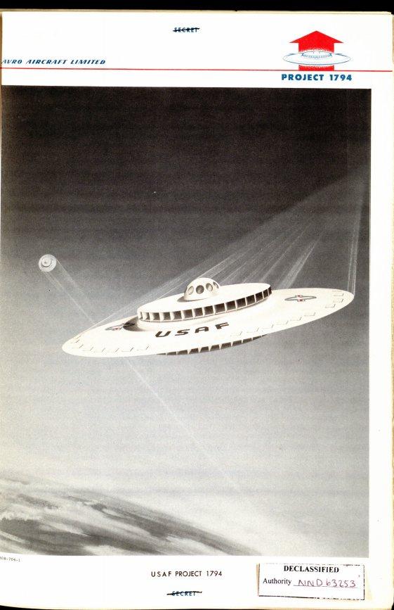 Project 1794: EEUU planeaba construir un plato volador