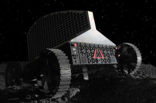 """""""Polaris"""": El robot que perforará la Luna (en busca de agua)"""