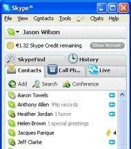 Skype: Beta 3.1