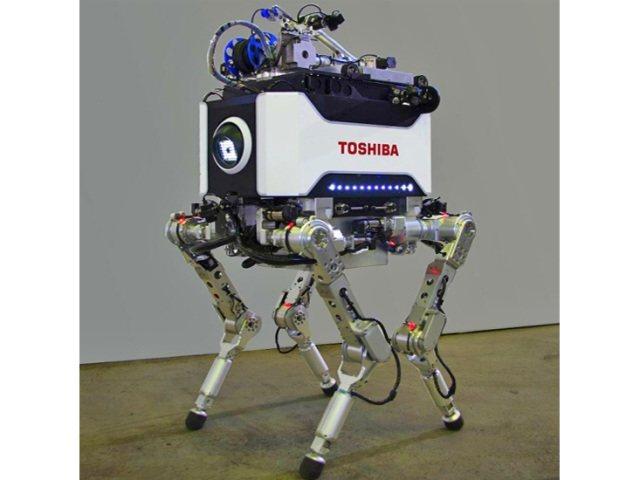 Robots para emergencias nucleares (Toshiba)