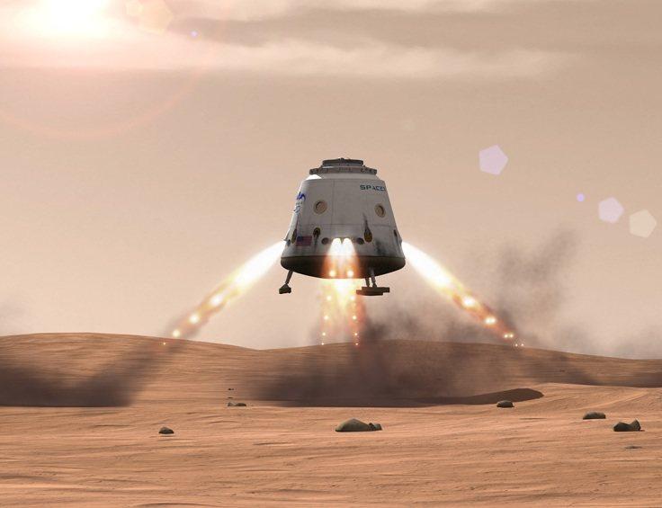 SpaceX quiere una colonia en Marte