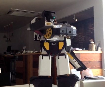 Transformer real, ahora impreso en 3D (vídeos)