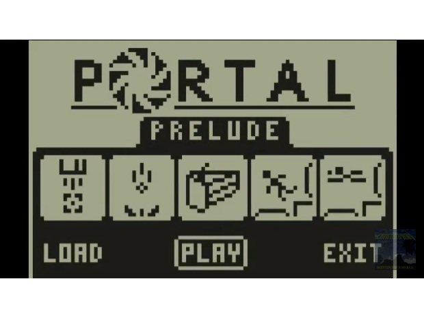 Portal en una calculadora TI-83 Plus