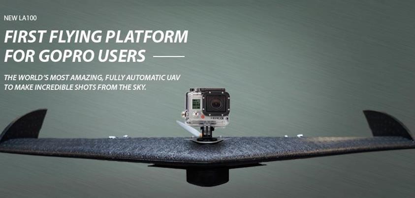 LA100: Plataforma voladora para GoPro