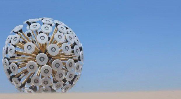 Mine Kafon: Limpiando campos de minas antipersonales