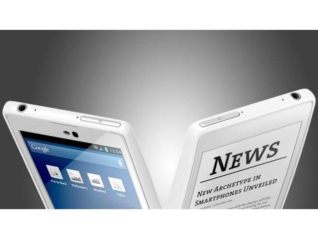 YotaPhone: Dos pantallas, una de tinta electrónica