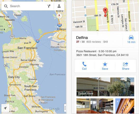 Google Maps volvió a iOS