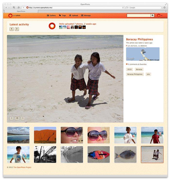 OpenPhoto: Alternativa a Flickr y Picasa de código abierto