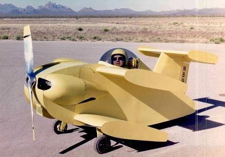 Bumble Bee II: El avión tripulado más pequeño (vídeo)