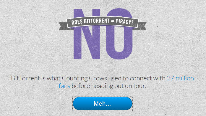 BitTorrent le dice NO a la piratería