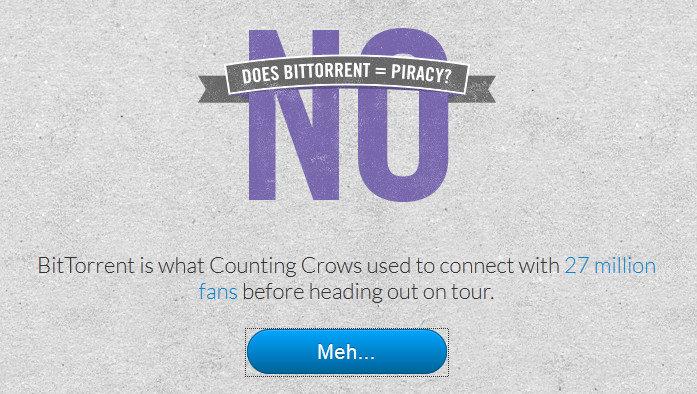 BitTorrent le dice NO a la piratería