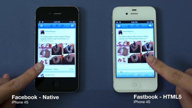 Fastbook: Facebook más rápido en HTML5