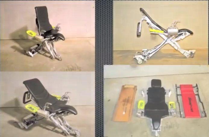 Human Hoist: Silla mecánica para mecánicos