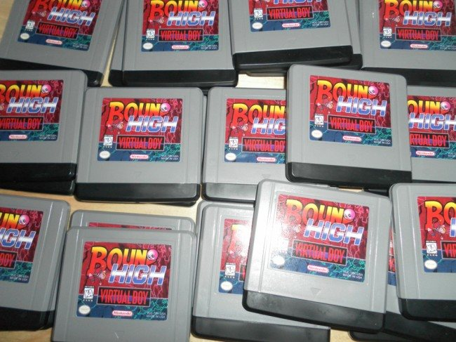 Bound High: Nuevo juego para la Virtual Boy de Nintendo