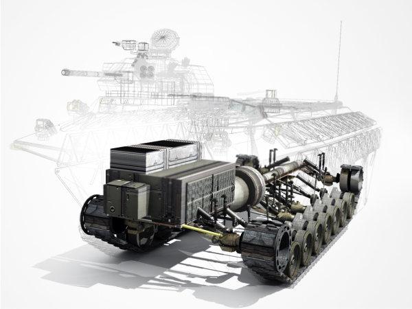 El primer tanque colaborativo de DARPA