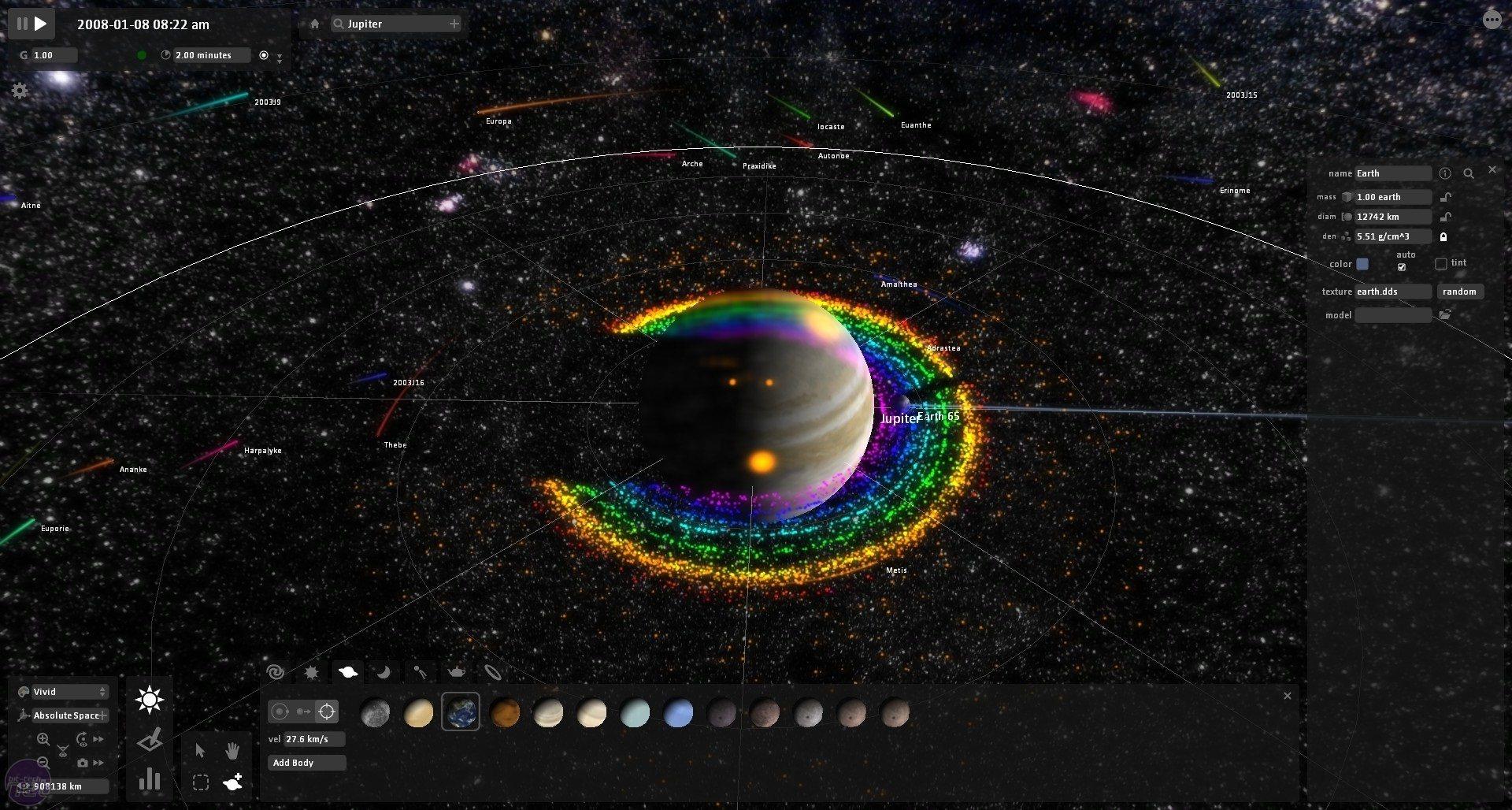 Universe Sandbox: El Universo en tus manos (vídeo)